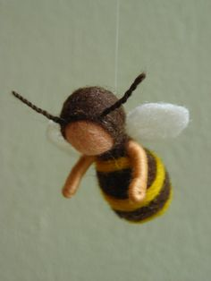 Another felt bee baby