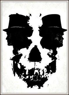 Inkblot Skull