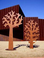 Laser cut cor-ten steel | Peter McLisky - Australia