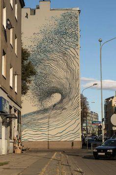 #StreetArt by Lodz Murals. Lodz, #Poland.