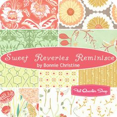 Sweet Reveries Reminisce Fat Quarter Bundle Bonnie Christine for Art Gallery Fabrics - Fat Quarter Shop