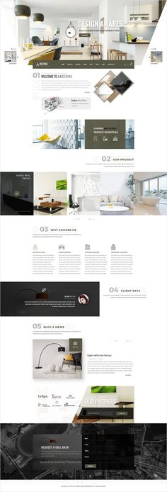 Arczone is beautifully design premium #PSD template for #Interior Design, #Decor, Architecture Business website to live preview & download  click on the image.