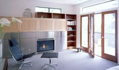 Medina - contemporary - family room - seattle - Coop 15 Architecture