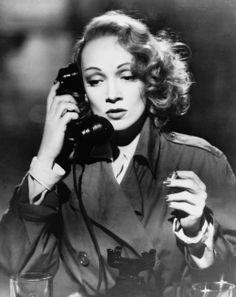 """Marlene Dietrich in """"A Foreign Affair"""" (1948). DIRECTOR: Billy Wilder."""