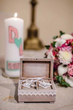 #Ringkissen / Ringbox für die #Hochzeit / #Wedding im #Vintage Look - Foto: http://www.daniel-undorf.de