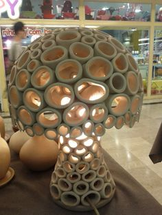 Luminaria Cerâmica - Tecnica elos
