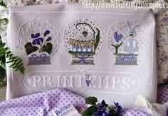 Printemps From Madame Chantilly - Cross Stitch Charts - Cross Stitch Charts - Casa Cenina