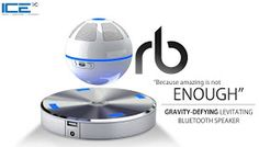 This Awesome Floating Speaker Orb spins above a magnetic base. Its Special sound guide cone designed to increase 3D surround - sound effect. The Floating Bluetooth speaker with 10 mm ground clearance. Its Built-in NFC function can be compatible with any smartphone or tablet with NFC function can pair with them automatically. Orb can also be used individually as portable speaker without base.