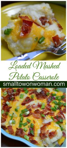 I love potato casseroles!  Of course who doesn't.  Potatoes are so versatile.  Now add some sour cream, milk, bacon, cheddar cheese and provel cheese and you have yourself a mini masterpiece!