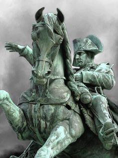 Statua equestre di Napoleone Bonaparte a Cherbourg