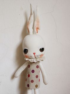 circus bunny by evangelione, via Flickr