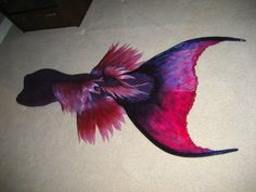 A brand new mermaid tail!