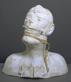 Sir Eduardo Paolozzi 'Cardinal Syn', 1984 © The Eduardo Paolozzi Foundation - lisa Plaster Sculpture, Sculpture Head, Paper Mache Sculpture, Sculptures, Eduardo Paolozzi, Lisa, Royal College Of Art, Ink Illustrations, Land Art