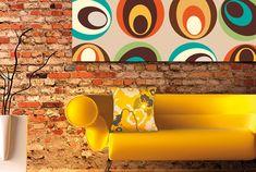Interior & Eksterior Design: What Is Retro Interior Design? Retro Interior Design, Home Interior, Interior Design Inspiration, Room Inspiration, Chaise Panton, Hipster Decor, 70s Decor, Deco Retro, Furniture Styles