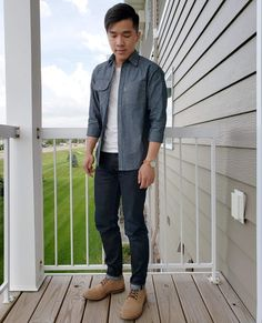 chambray shirt jeans and boots Jean Shirts, Trending Memes, Jeans And Boots, Funny Jokes, Bomber Jacket, Denim, Chambray, Fitness, Spring