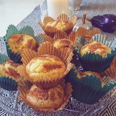 Äppelmuffins till höstens fika