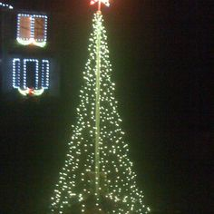 How to create an outdoor christmas tree from PVC pipe and Christmas Diy Outdoor Xmas Lighting Ideas on outdoor christmas ideas, outdoor water features ideas, xmas light ideas, outdoor party lights ideas,