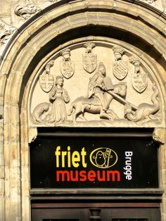 "The ""Friet Museum"" in Bruges, Belgium 4/14 