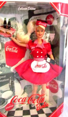 ~~Collection of Eight Coca Cola Barbies~~
