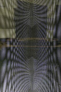 White Dots Columns [Kobe Art Way] by oxoxo [zero by zero], via Flickr