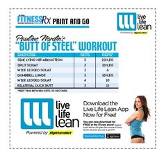 Pauline Nordin's Butt Of Steel Workout - Shape The Glutes, Tighten The Tie-in
