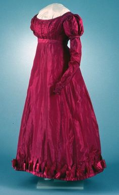 Day dress ca. 1823-29  From COLONIAL WILLIAMSBURG