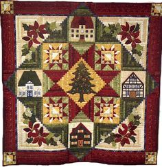 O' Tannenbaum from Quakertown Quilts..awesome quilt pattern