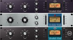 1176 Classic Limiter Plug-In Collection - Universal Audio - Software plug-ins are great replacements for their very pricey hardware counterparts. EQ's, Compressors/Limiters, Reverbs/Delays, give the mix depth and dynamics Home Recording Studio Equipment, Audio Music, Audio Sound, Studio Gear, Ham Radio, Logitech, Creme, Plugs, Music Production