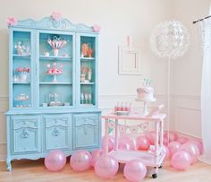 Darling & Magical WISH Themed Birthday by Frog Prince Paperie via www.blog.hwtm.com #wish #party #pink
