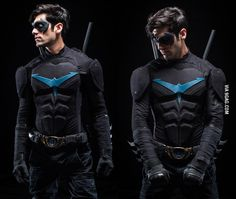 /r/cosplay: for photos, how-tos, tutorials, etc. Cosplayers (Amateur and Professional) and cosplay fans welcome. Gay Halloween Costumes, Dc Costumes, Super Hero Costumes, Halloween Cosplay, Halloween Ideas, Robin Cosplay, Male Cosplay, Cosplay Diy, Best Cosplay