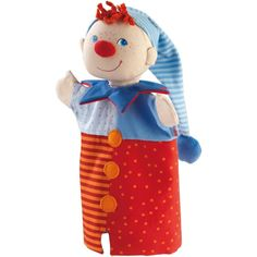 Kasper Glove Puppet - Plush Hand Puppet | HABA USA