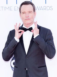 Bryan Cranston from Breaking Bad emmys 2012