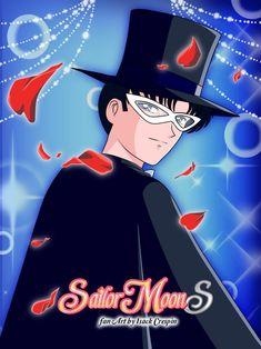 Toxido Mask by on DeviantArt Sailor Moon Stars, Sailor Moon Manga, Sailor Moon Crystal, Sailer Moon, Doctor Who Fan Art, Tuxedo Mask, Chiba, Sailor Scouts, Kawaii