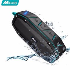Waterproof Speakers, Thpoplete Portable Water Resistant Wireless Bluetooth Speaker with Dual Driver Up to 15 Hours Play Time, Built-in Mic / Super Loud Sound for Outdoor, iPhone, Android Waterproof Bluetooth Speaker, Bluetooth Speakers, Bluetooth Gadgets, Bass, Outdoor Speakers, Audio, Tech Gadgets, Electronics Gadgets, Free Shipping