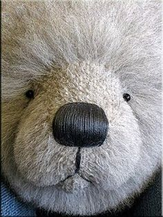 Inserting A Simple Head Gusset and Stuffing Your Bear's Head Tutorial by Paula Carter of All Bear