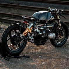 @nctmotorcycles latest build on @bikeexif make sure to check that out @pege78 #perfection #bmw black stallion #28 #caferacer #tuning #moto #pictureoftheday #vintage #streetstyle #horsepower #followus #brat #scrambler #motor #motorcycle #custombike #custom #customized #iggers #tb #rkoi