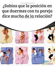 ¿Sabías que la posición en que duermes con tu pareja dice mucho de la relación?  Lo más probable es que si te pones a pensar, en ocasiones cuando peleas con tu pareja sueles darle la espalda al dormir o buscar otra posición en la cama para evitarla.
