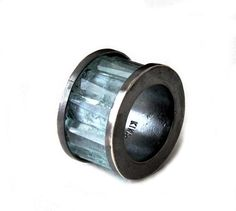 oxidized silver and aquamarine ring by Kika Alvarenga
