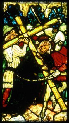 Stained Glass in Stiftskirche, Klagenfurt, Austria (1390-1400)