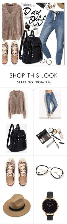 """Happy Weekend !!"" by oshint ❤ liked on Polyvore featuring Borghese, Gucci, Olivia Burton and H&M"