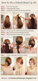 PinTutorials: How To Do a Fishtail Braid Up-Do