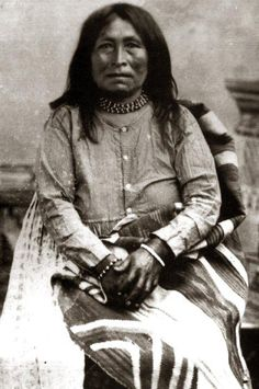 Marionetta, one of the women who married Geronimo. These photos come from a wonderful article telling the stories of Apache women Recalling the Changing Women Returning Identity to Chiricahua Apache Women. J. Diane Pearson   Papers-etc