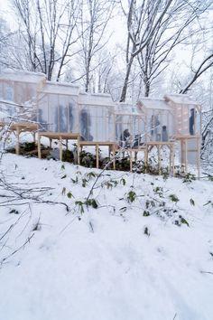Shukaijo, un refugio mágico en el bosque creado por el artista y diseñador Hidemi Nishida. | diariodesign.com
