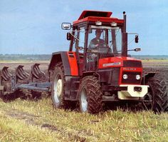 Agriculture, Farming, Classic Tractor, Techno, Vehicles, Childhood, Iron, Vintage, Car