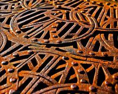 Rust photograph 8x10 rusty wrought iron  by mistflowerphoto, $21.00