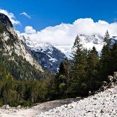 Vorderer Gosausee im Mai 2019 Wenig Wasser macht alte Wurzeln sichtbar.  #dachstein Mai, Mount Rainier, Austria, Mountains, Instagram, Nature, Travel, Roots, Water