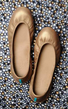 Metallic Gold | #tieks ballet flat