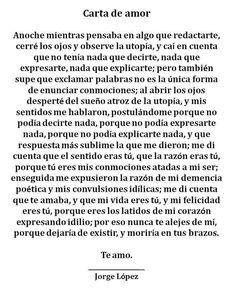 Carta de amor...