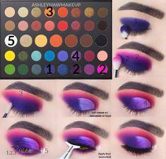 Edgy Makeup, Makeup Eye Looks, Eye Makeup Steps, Beautiful Eye Makeup, Eye Makeup Art, Crazy Makeup, Makeup Tips, Makeup Morphe, Makeup Cosmetics