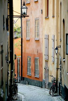 Stockholm, Sweden. I spent two weeks traveling alone there. What i recall most is how stark, clean and formal it felt; an Ice queen beauty to Amsterdam's  bohemian princess. (Photo by HelenaNormark)